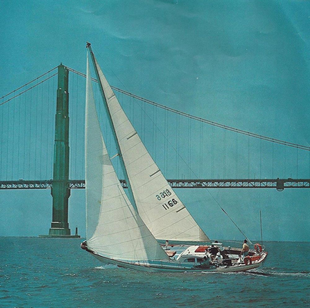 Columbia 50 Sailing