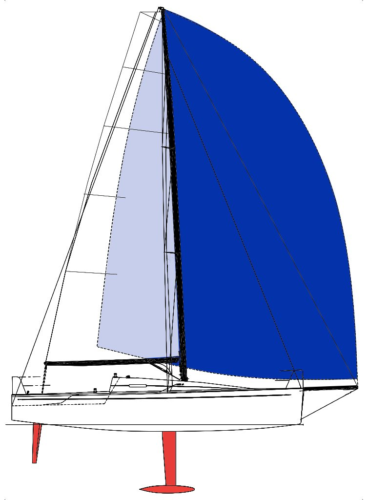 Line Drawing / Sail Plan