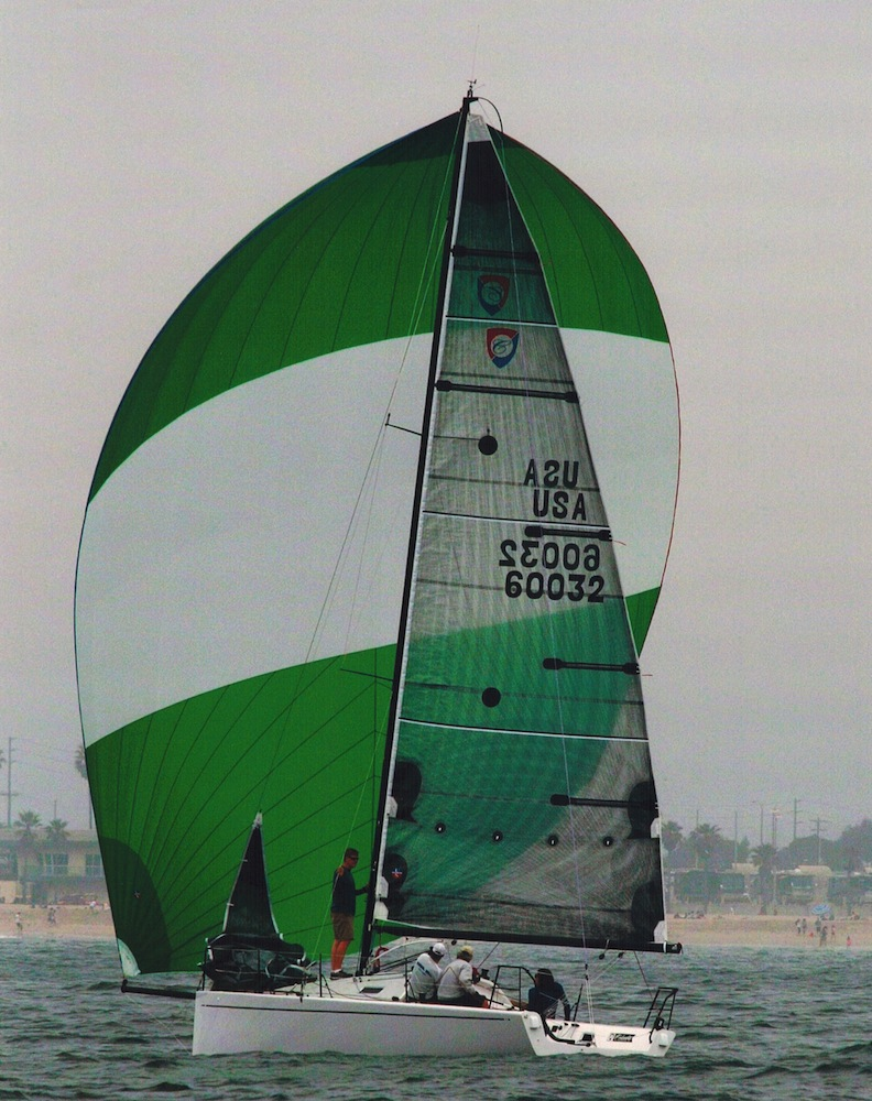 Big Green Spinnaker