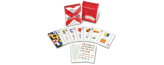 Fathers Day Gift - Nautical Playing Cards